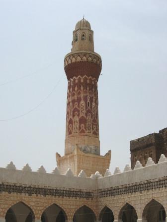 Minaret du palais de la reine Arwa